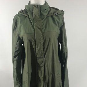 The North Face Green Rain Jacket sz XS NWOT